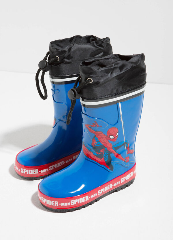 Rain boots with maxi Spiderman print | OVS
