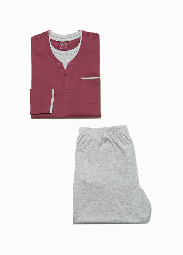 Pyjamas with faux layer and pocket | OVS