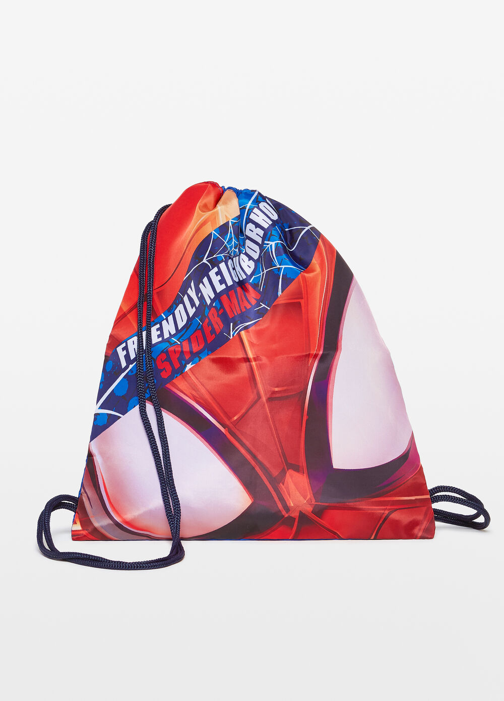 All-over Spiderman print bag