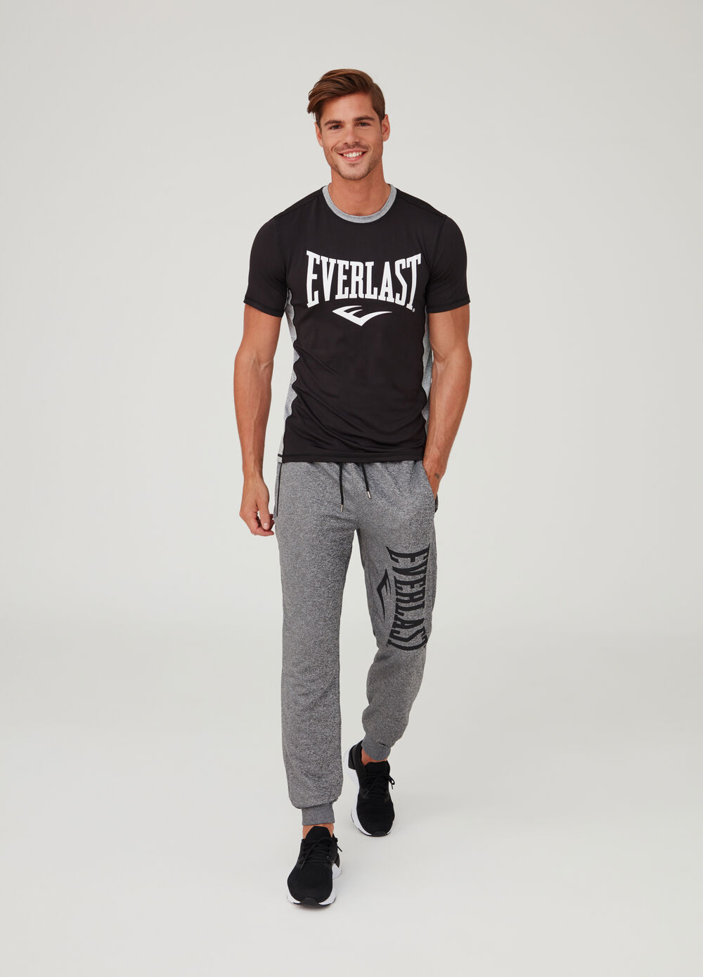 Everlast gym trousers with zip pockets
