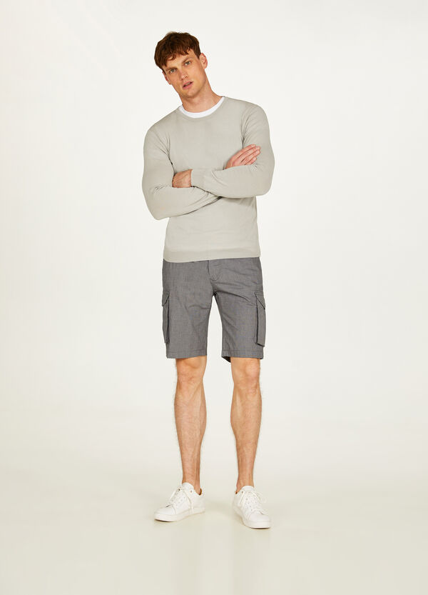 Rumford stretch cargo Bermuda shorts