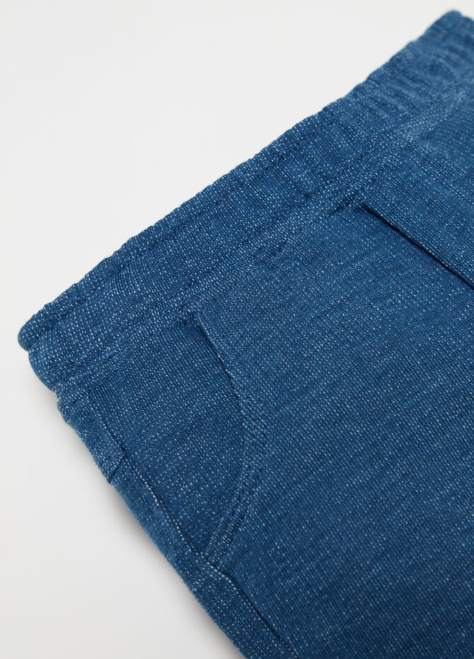 BCI trousers with pockets and ribbing