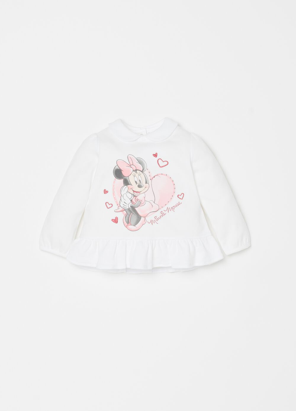 100% cotton T-shirt with Disney Minnie Mouse print