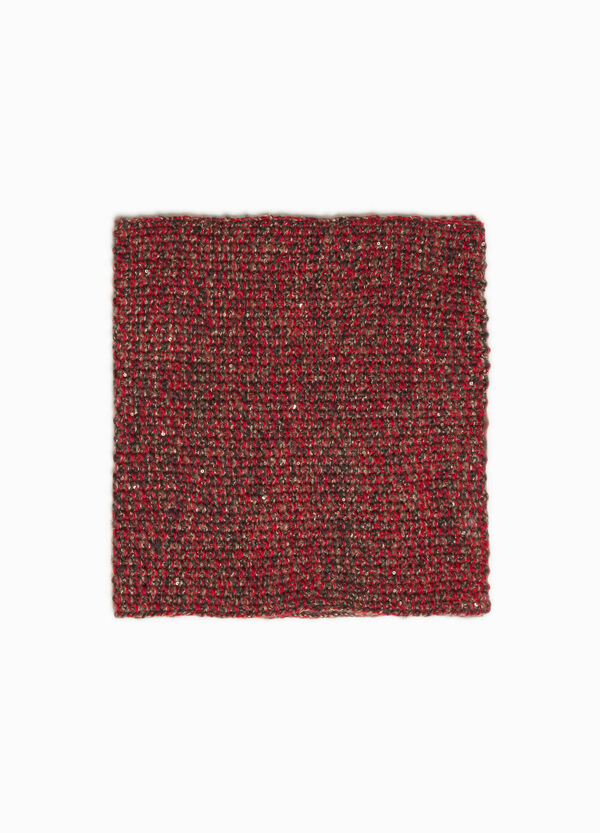 Glitter neck warmer with sequins   OVS