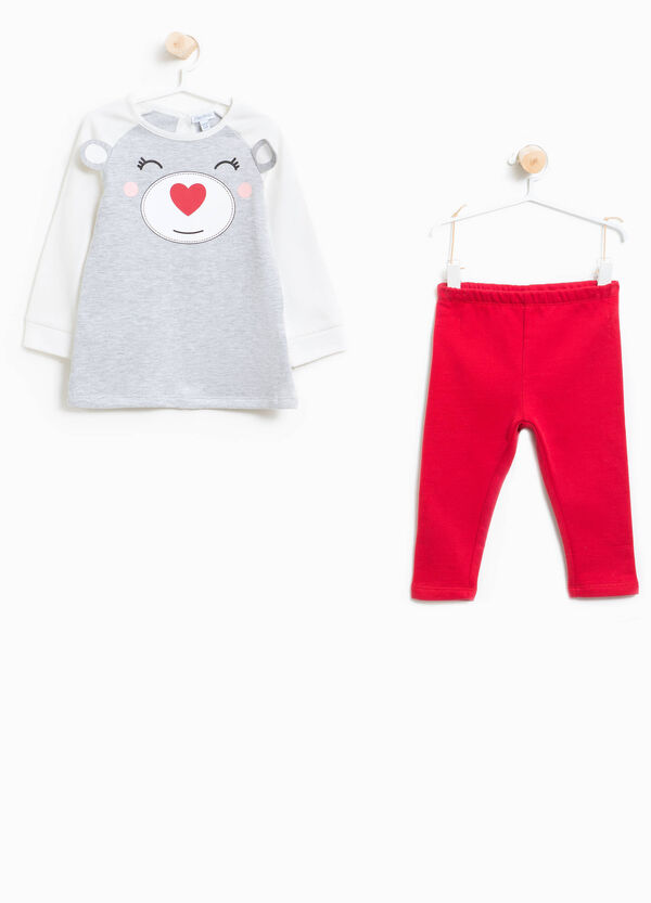 Tracksuit in 100% cotton with ears | OVS
