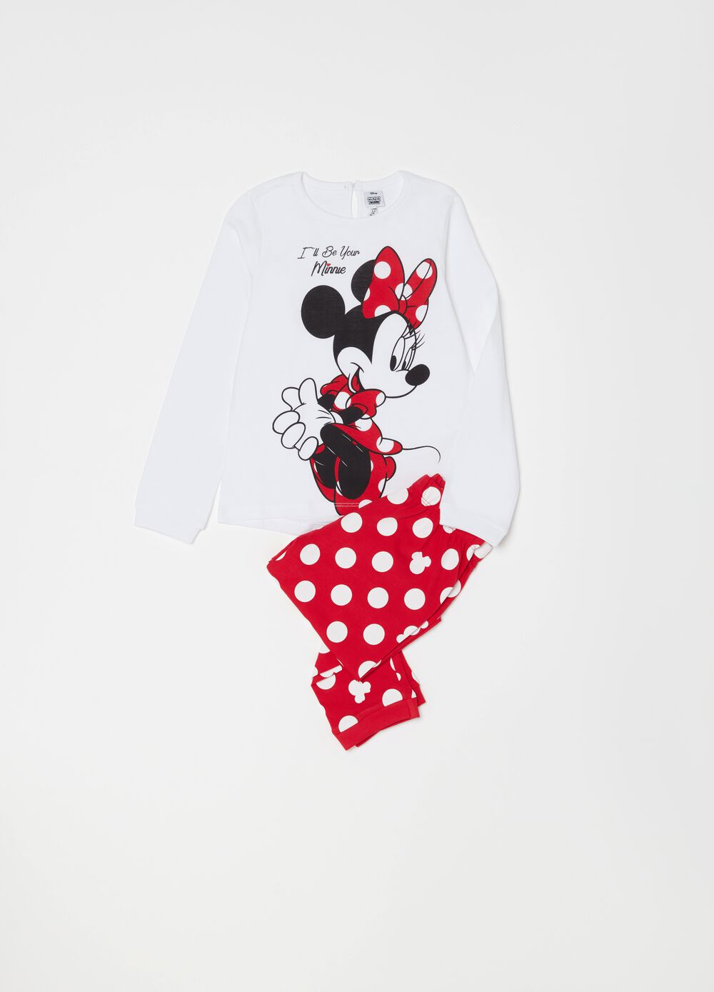Minnie Mouse pyjamas in 100% organic cotton