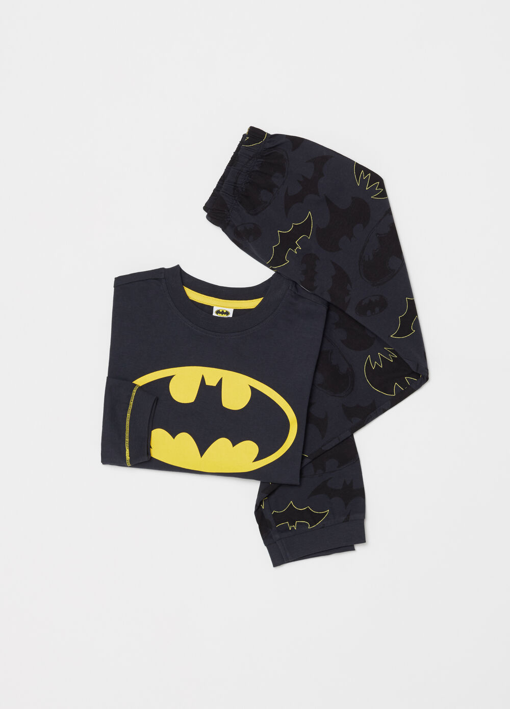 Lightweight Batman jersey pyjamas