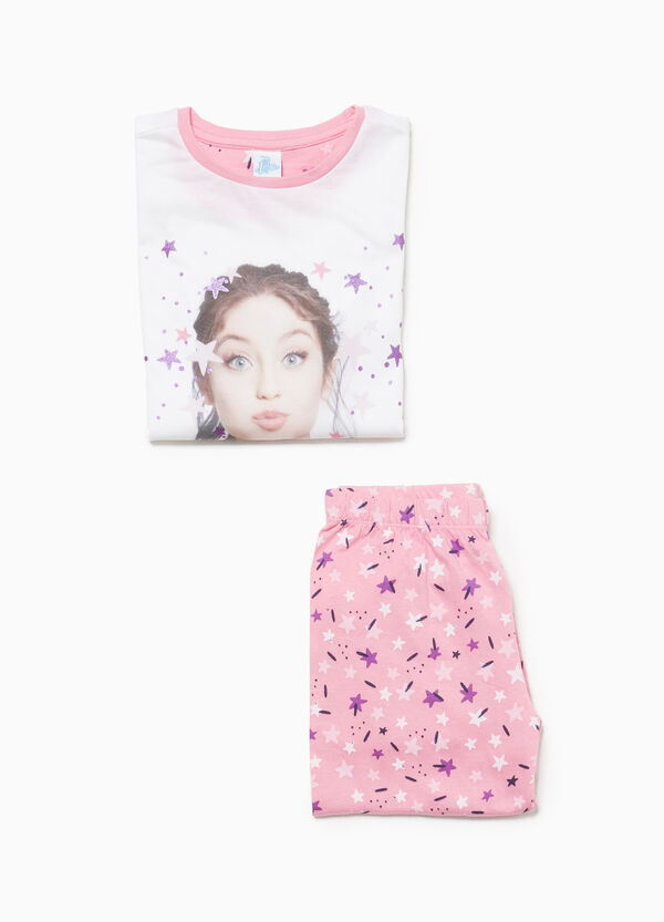 Pyjamas with Soy Luna glitter print