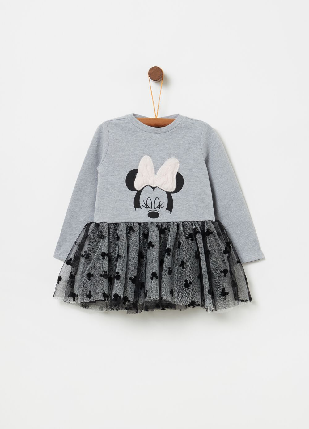 Disney Minnie Mouse mélange dress with tulle