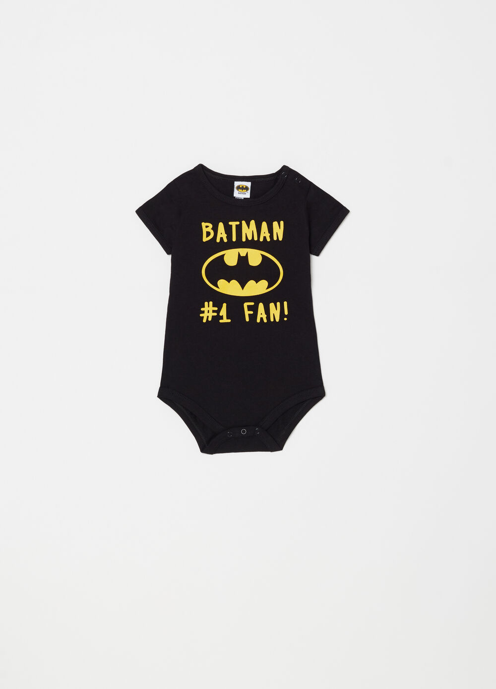 Body manga corta con estampado Batman