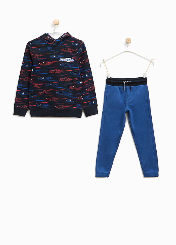 Cotton tracksuit with Cars pattern | OVS