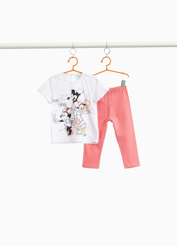 Donald Duck and Mickey Mouse outfit