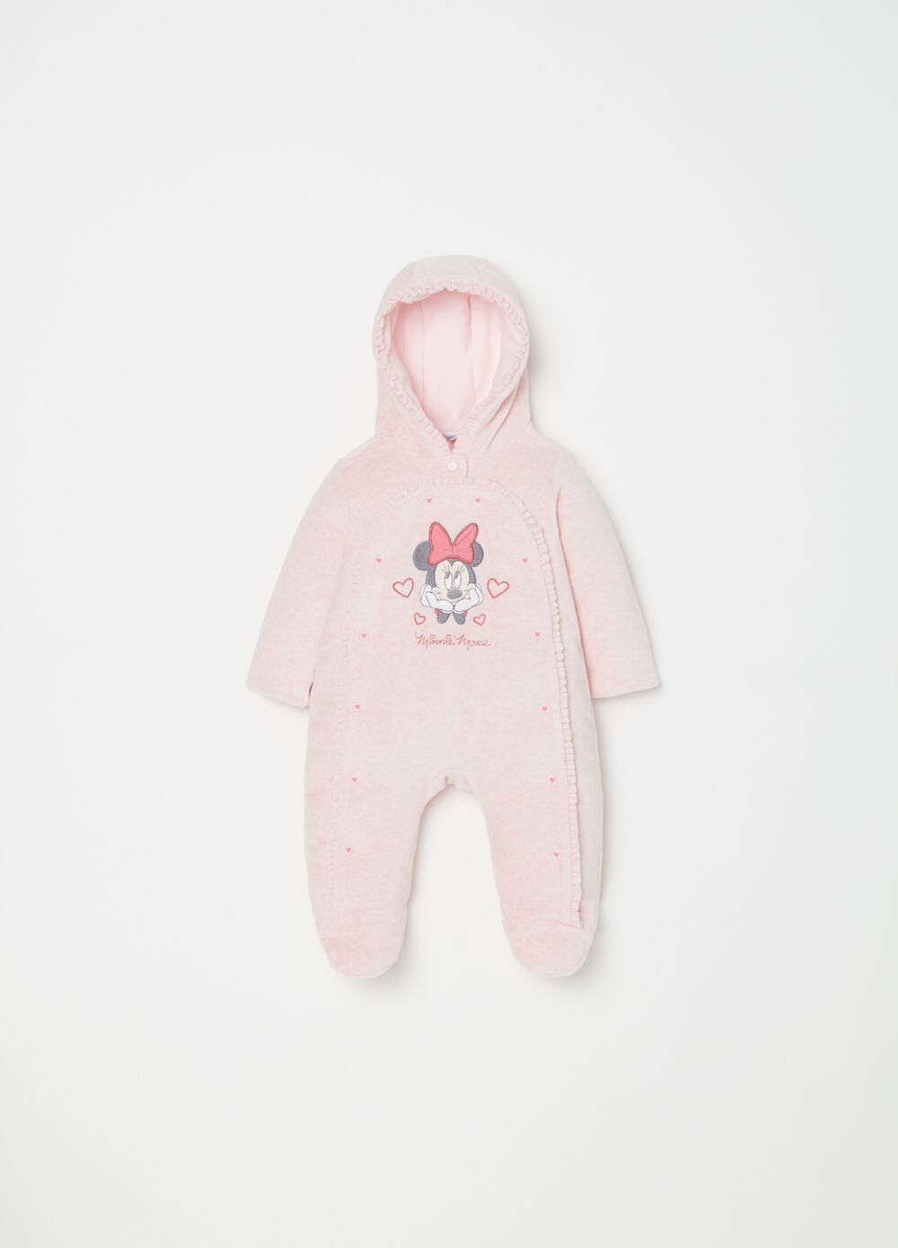 Disney onesie with hood and feet
