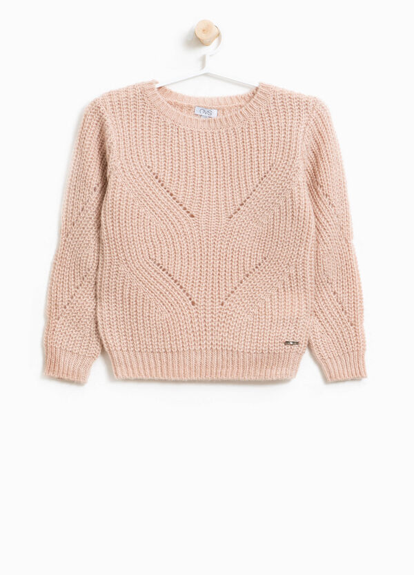 Wool and mohair knitted pullover | OVS