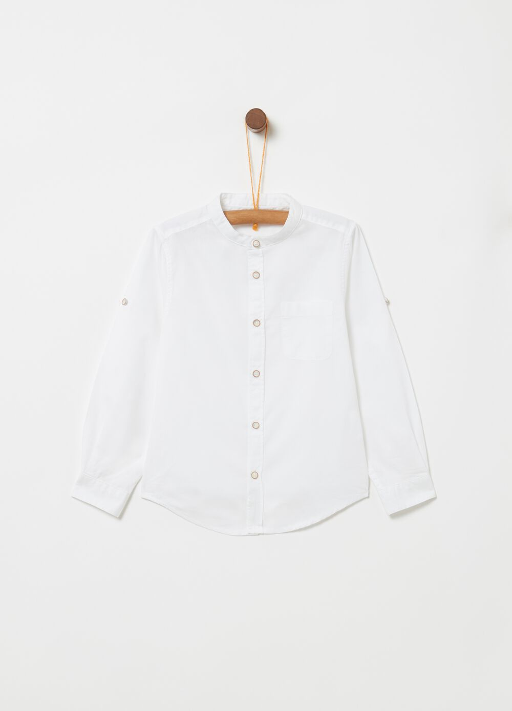 100% cotton shirt with pocket