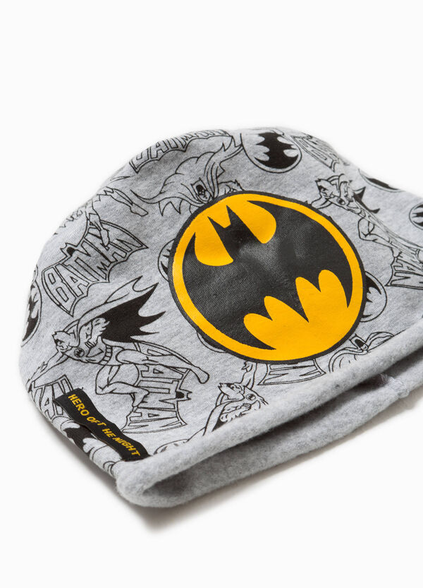 Cappello a cuffia in jersey Batman