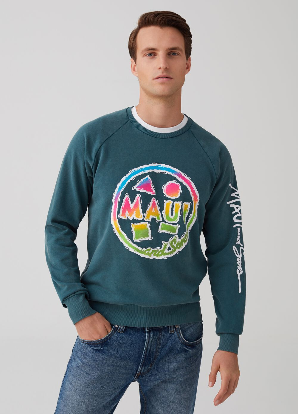 Round neck sweatshirt by Maui and Sons