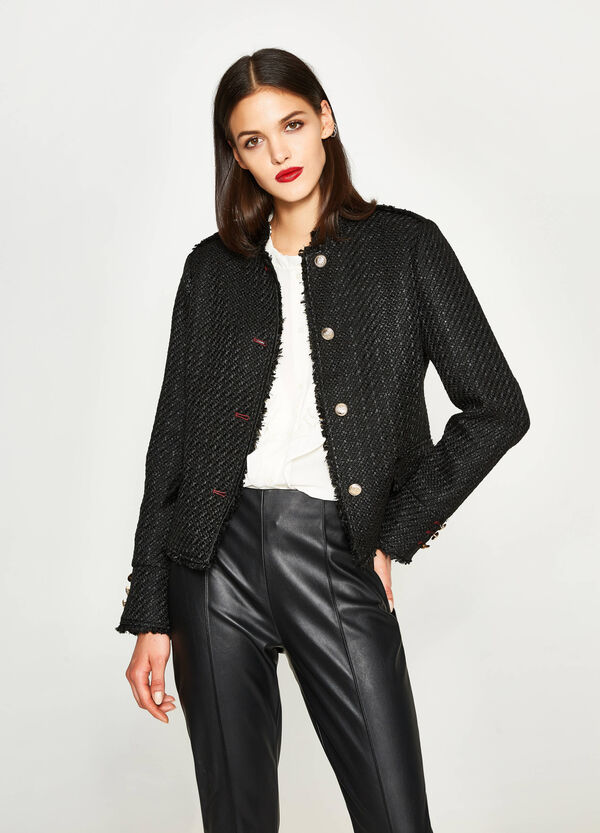 Knitted blazer with buttons | OVS