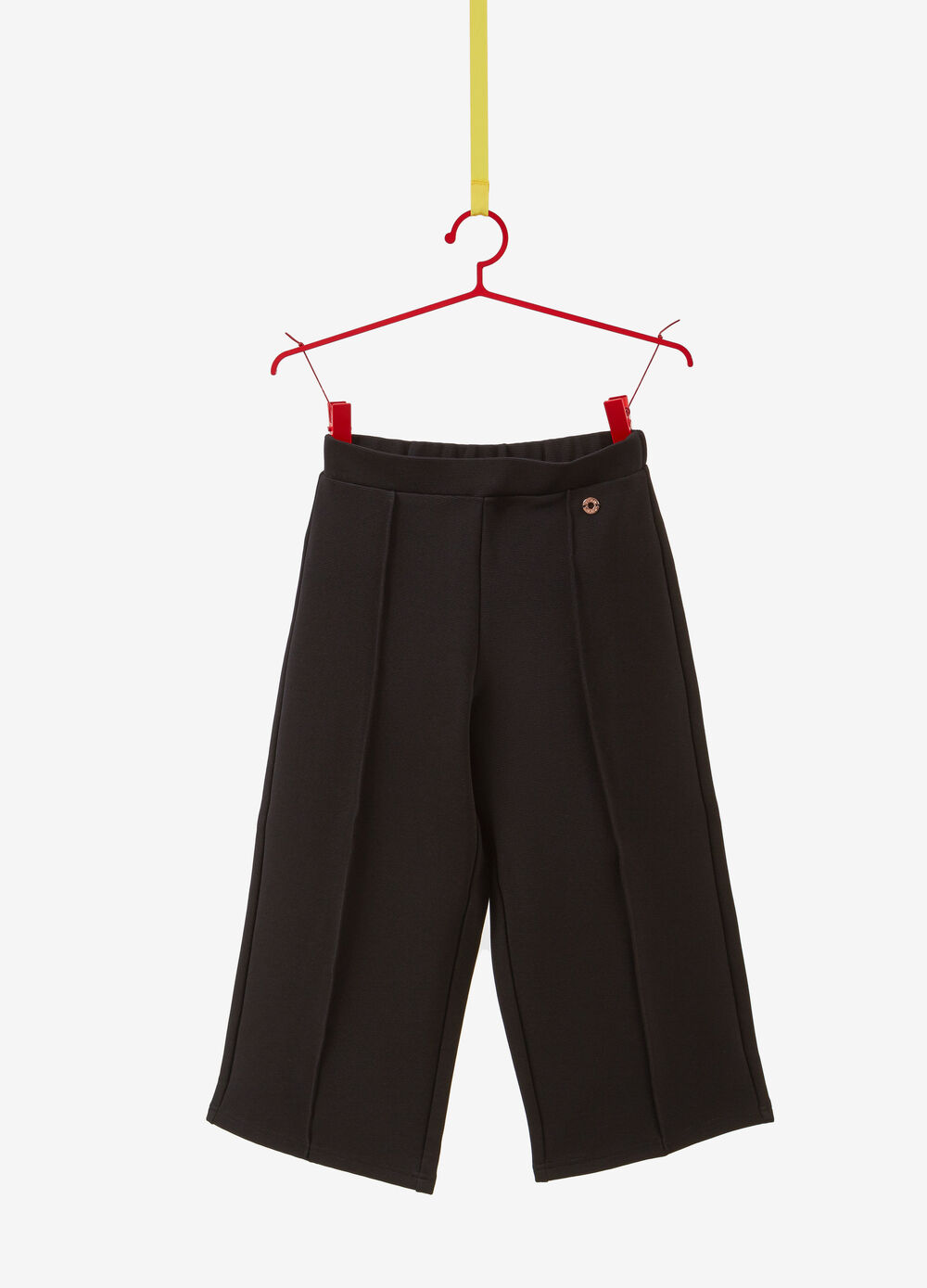 Cropped gaucho pants