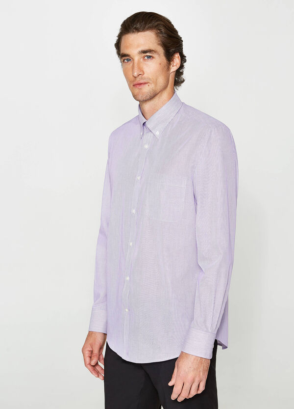 Camicia formale regular fit in cotone
