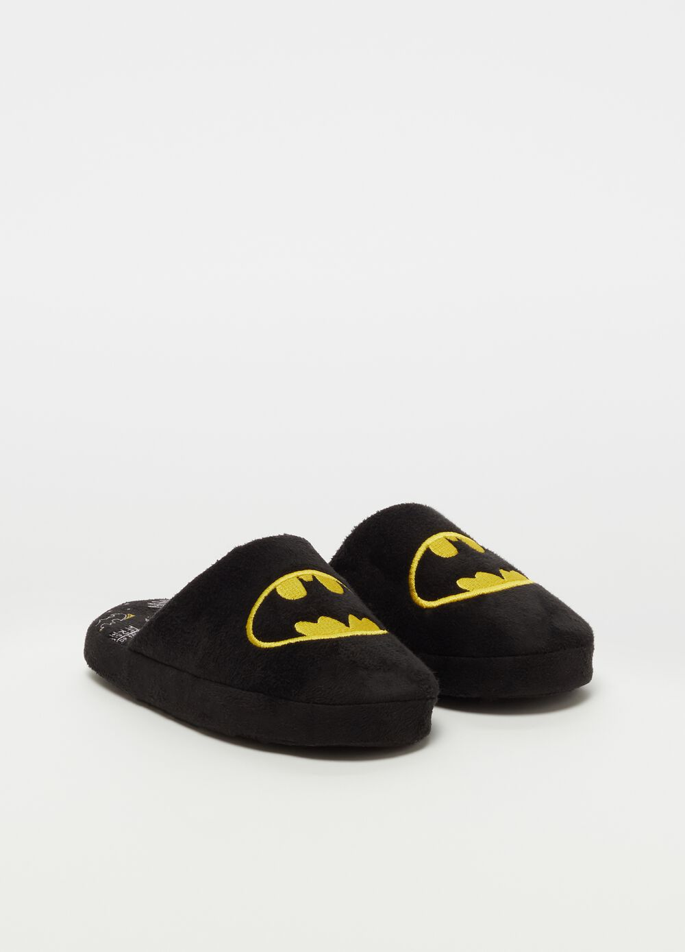Warner Bros Batman slippers with embroidery [DC COMICS]