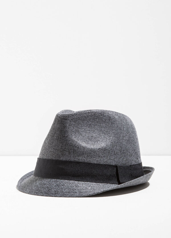 Wide-brimmed hat with turn-up | OVS