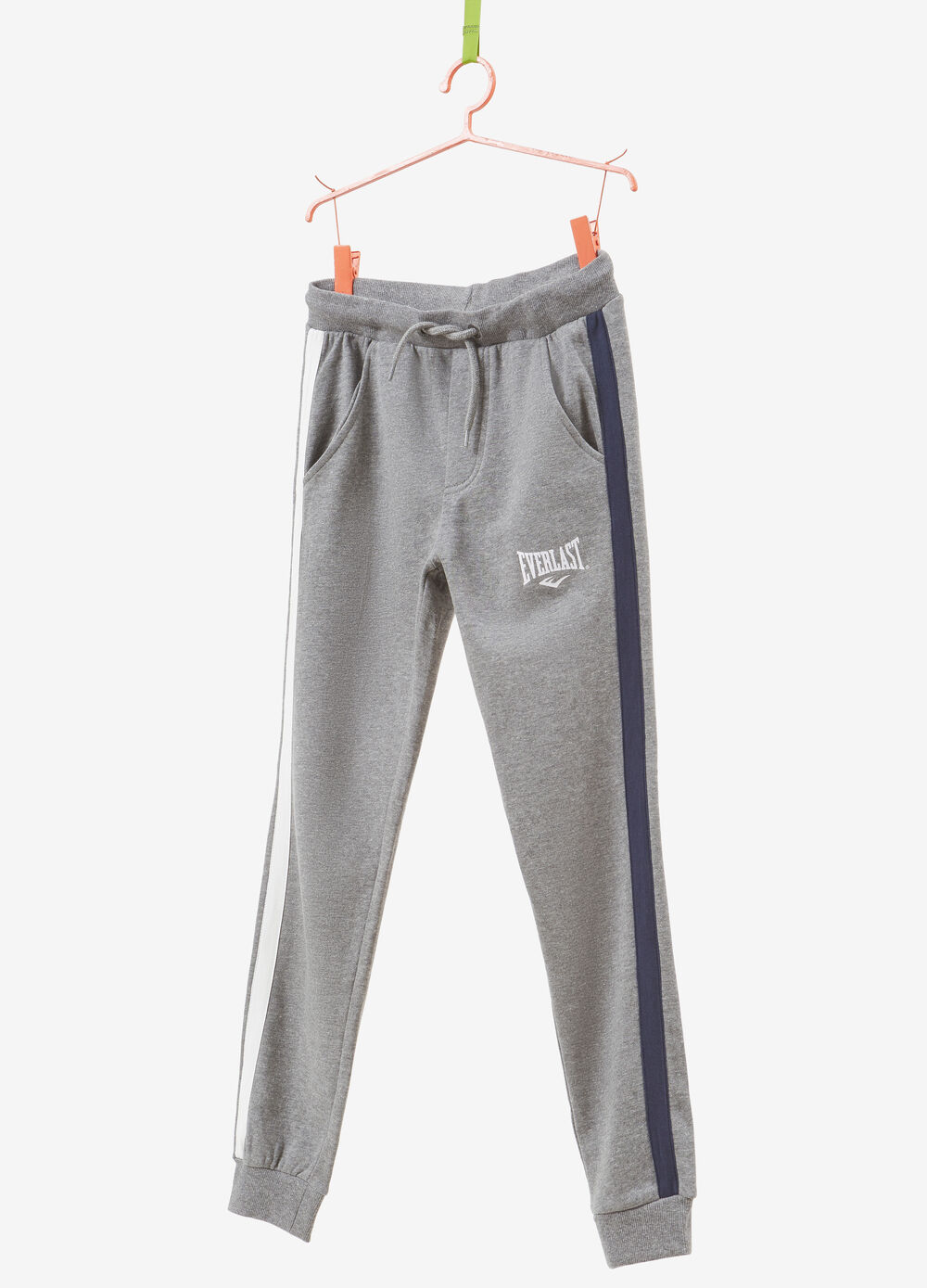 Everlast 100% cotton trousers with side bands
