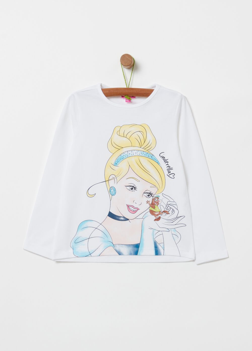 Disney Cinderella T-shirt with diamantés