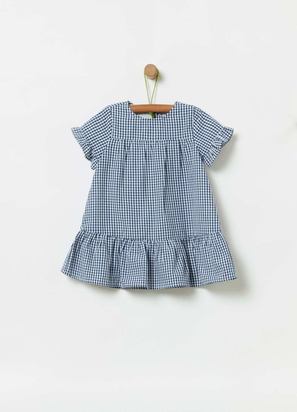 Dress in 100% cotton Vichy