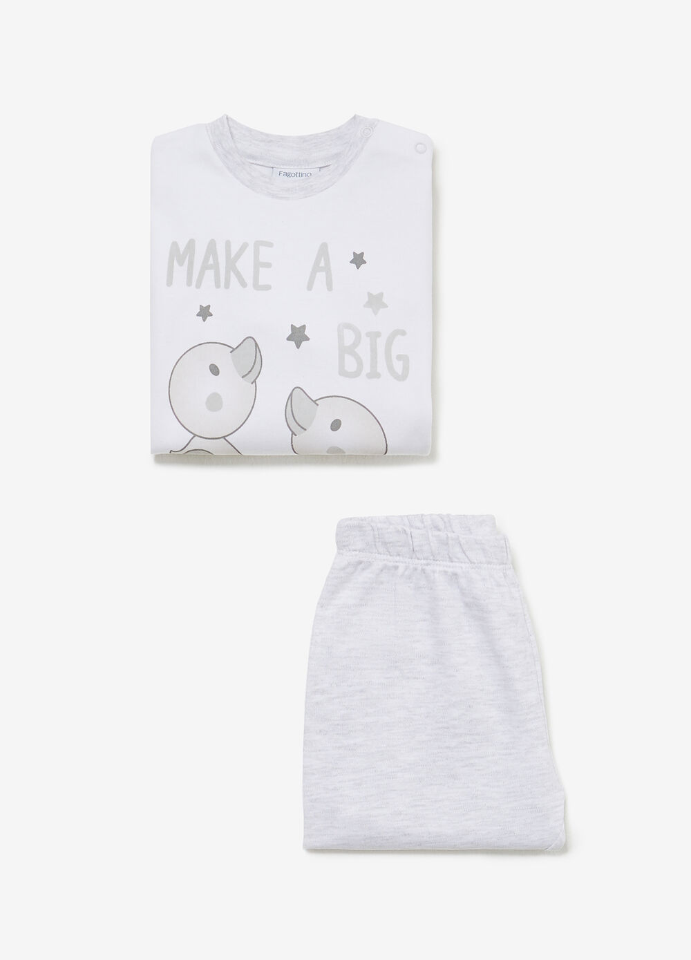 100% cotton pyjamas with chick print
