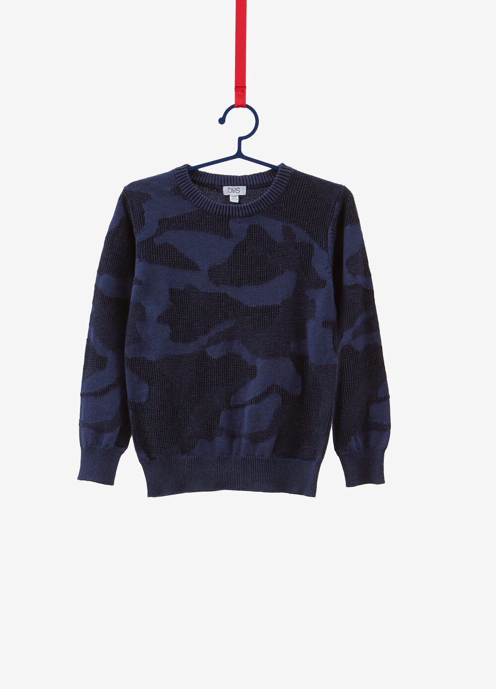 100% cotton camouflage pullover