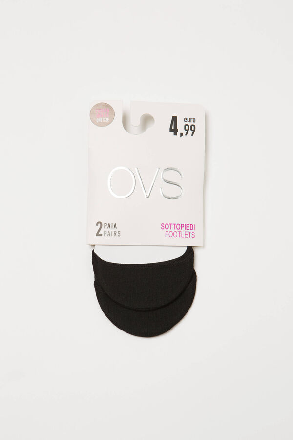 Solid colour cotton shoe liners | OVS