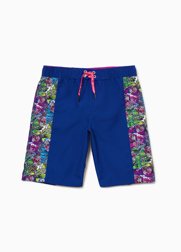 Skull beach shorts by Maui and Sons