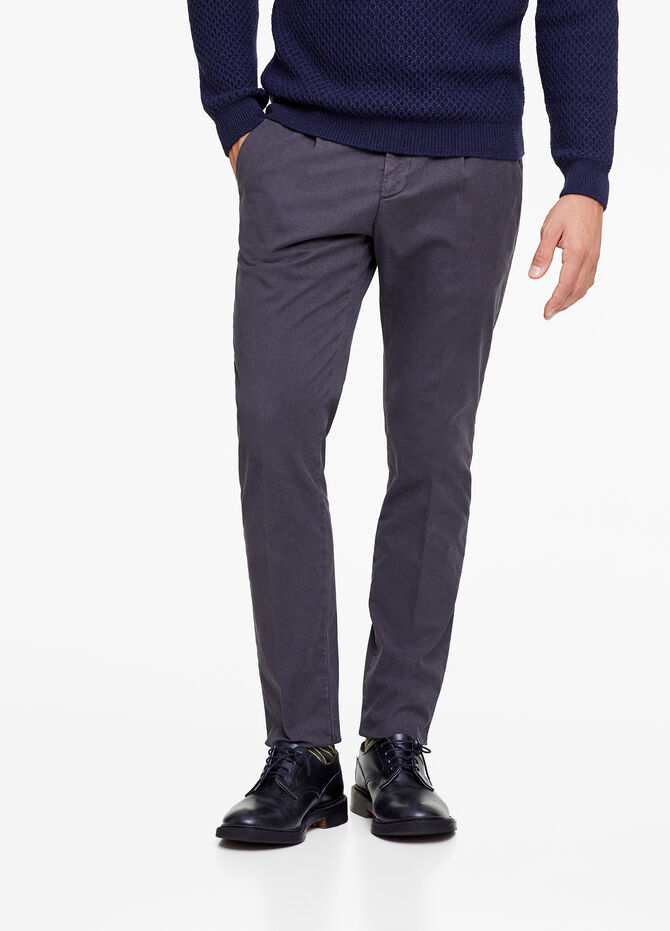 Rumford solid colour trousers
