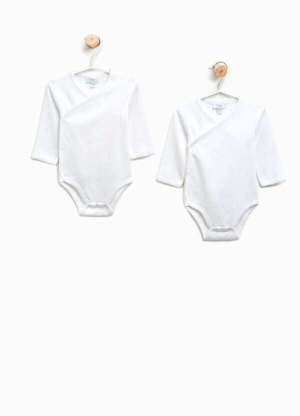 Two-pack long sleeves bodysuits in cotton   OVS