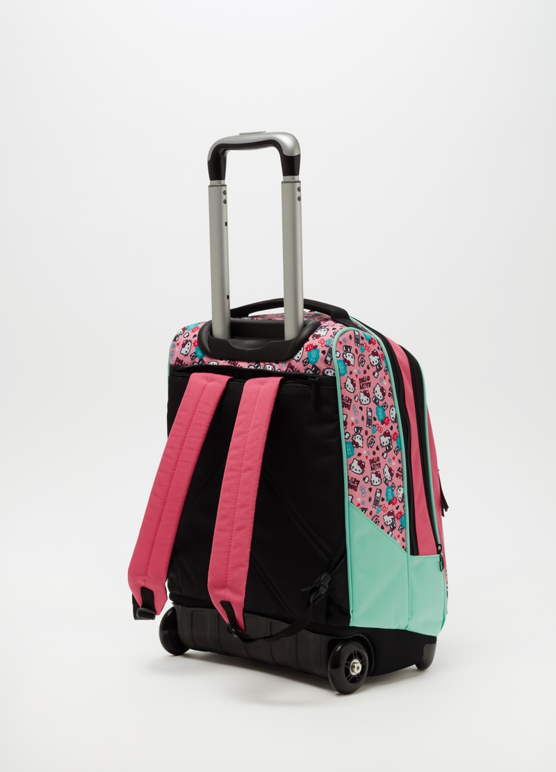 Hello Kitty pattern trolley. image number null