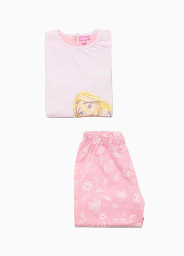 Pyjamas in 100% cotton with Rapunzel print