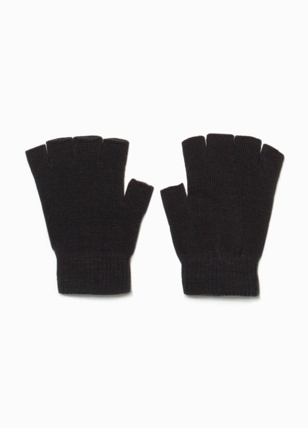 Solid colour fingerless gloves | OVS