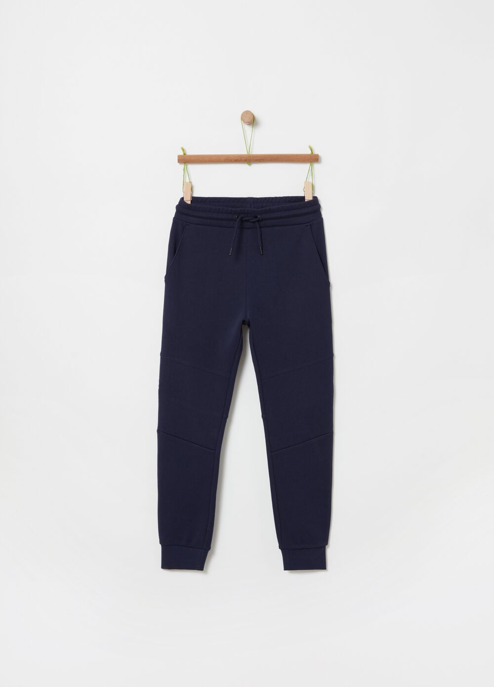 100% organic cotton jogger trousers