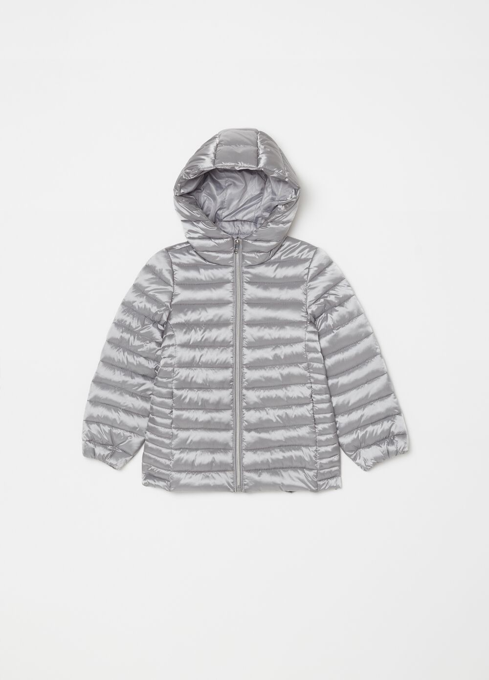 Padded lightweight jacket with zip