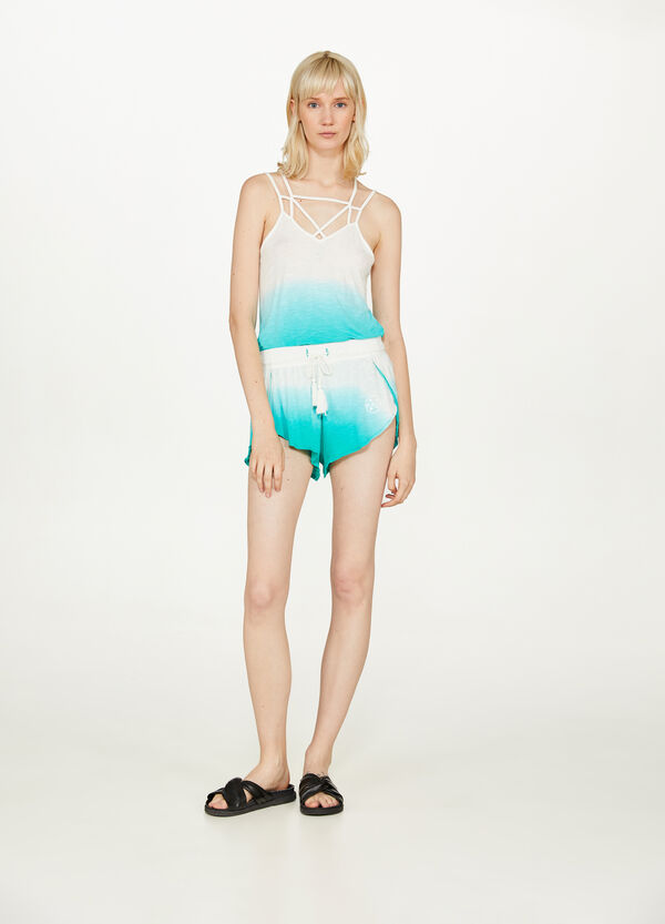 Stretch degradé shorts by Maui and Sons