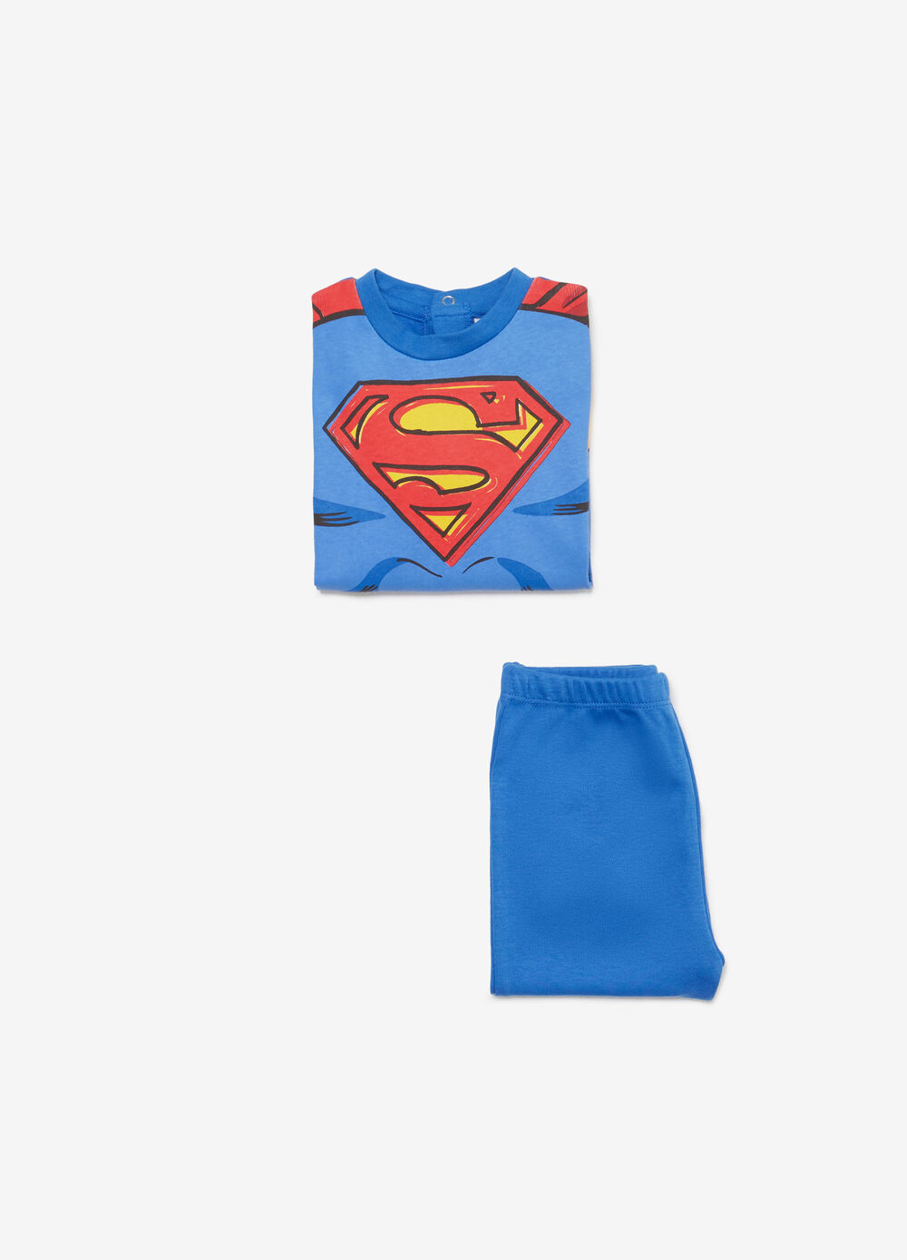 100% cotton pyjamas with Superman print