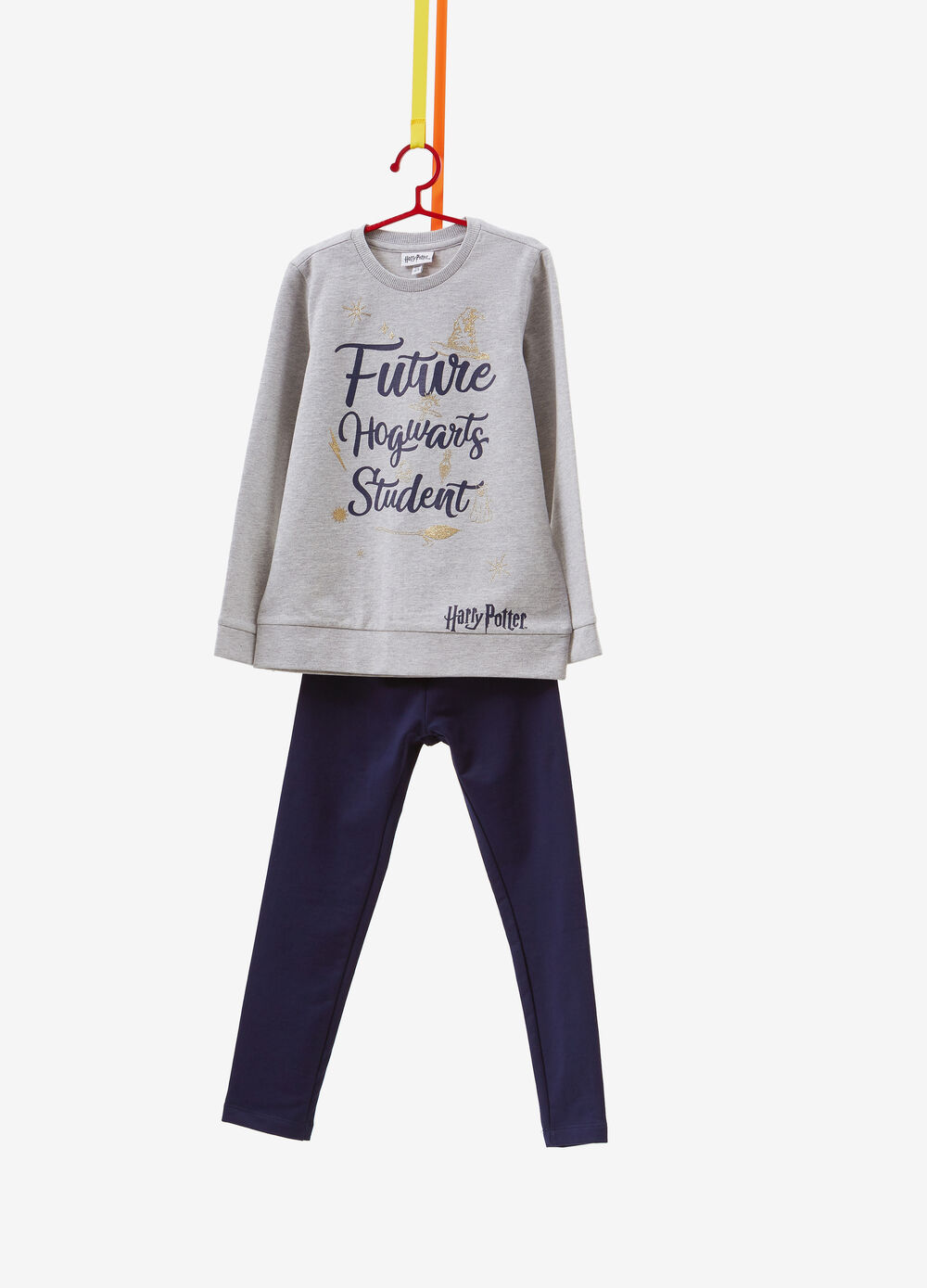 100% cotton tracksuit with Harry Potter print