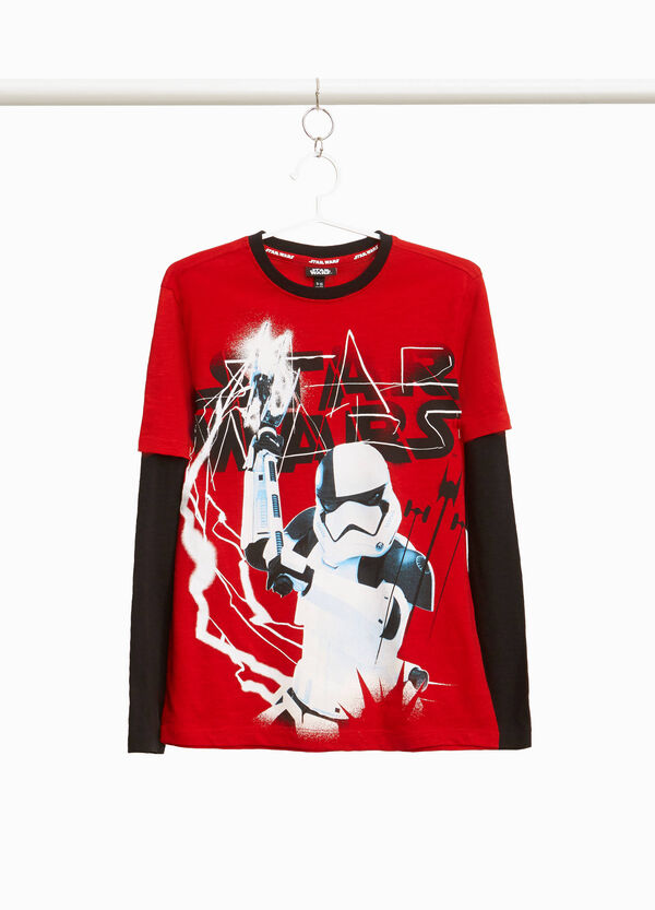 Star Wars maxi print T-shirt