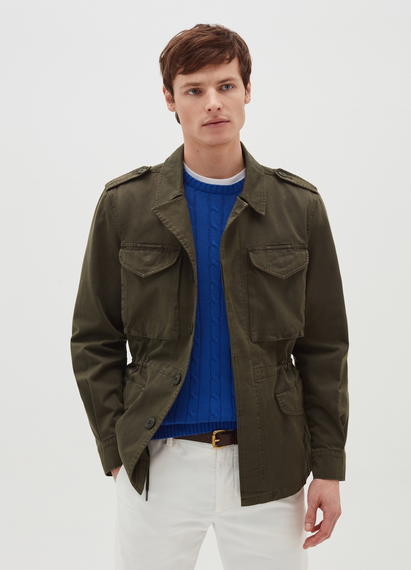 PIOMBO field jacket in cotton image number null