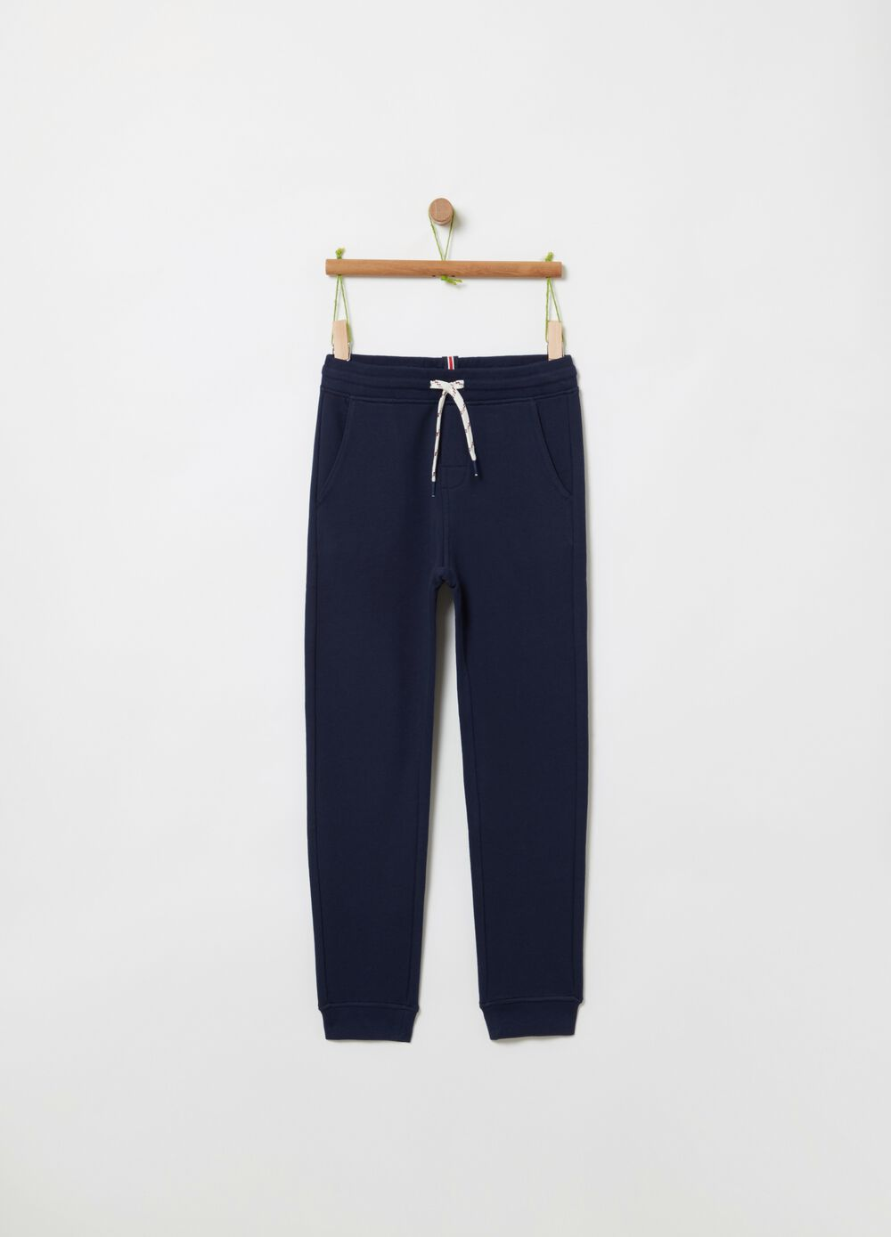 100% cotton jogger trousers