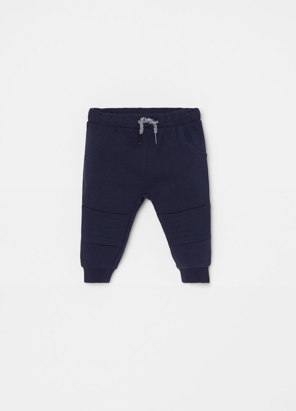 French terry organic cotton joggers