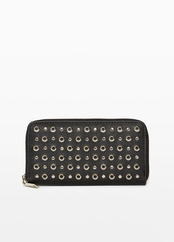 Purse with studs