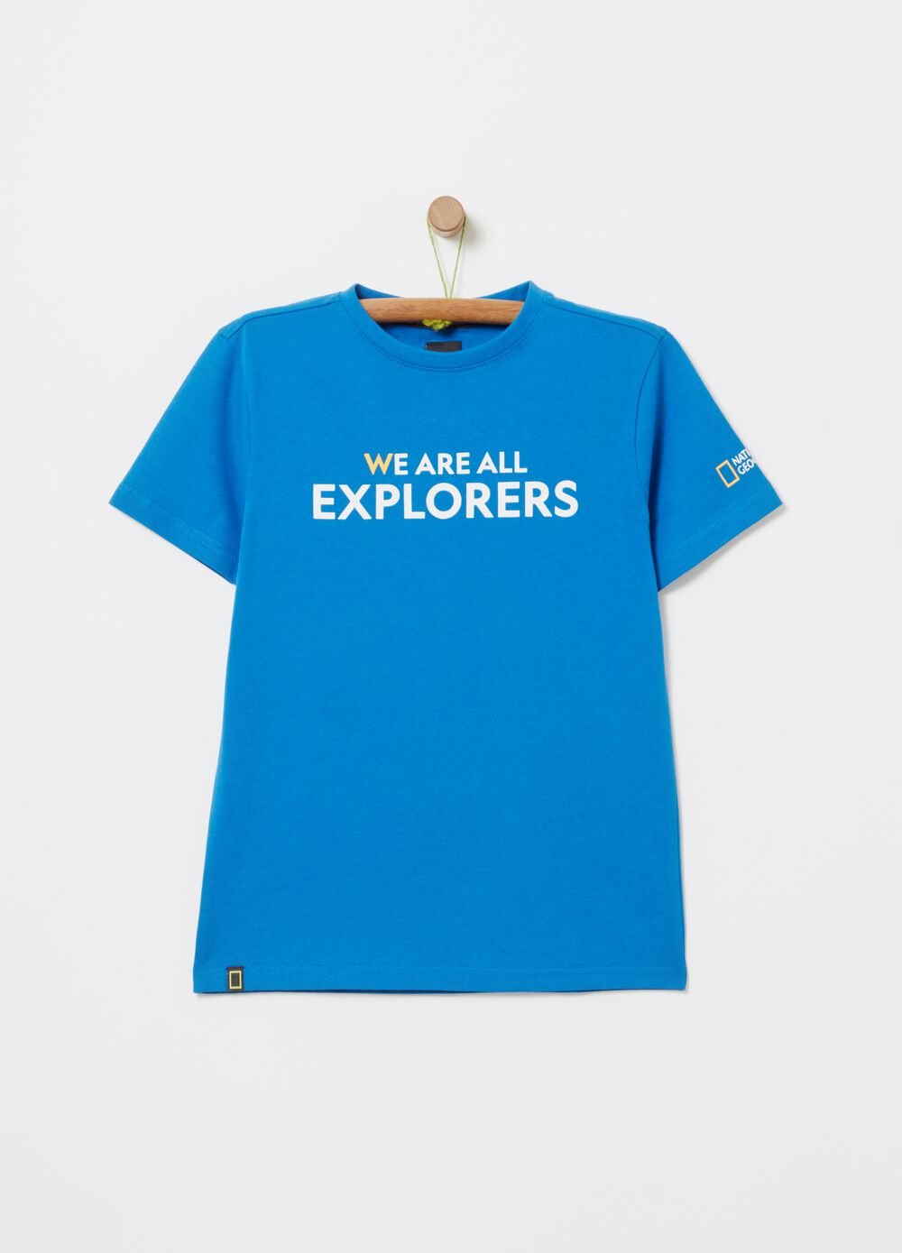 National Geographic T-shirt in organic cotton