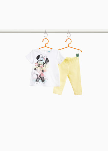 Stretch Minnie Mouse glitter outfit